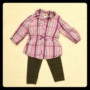 Toddler Girl's 3T Matching Set